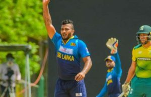 SLC suspended Shehan Madushanka after drugs issue